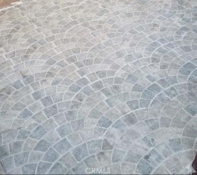 New Patio FLoor Tiles as you enter the condo unit.
