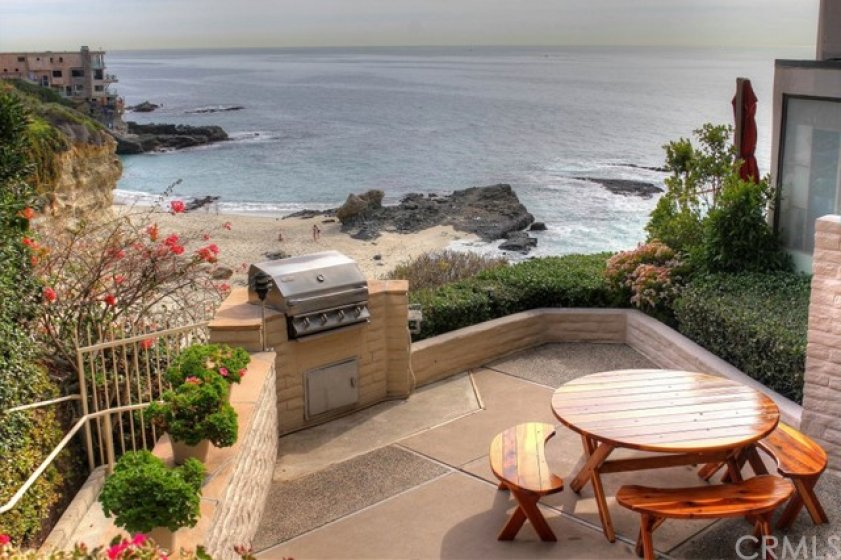 Oceanfront BBQ area is also available for private and community events.
