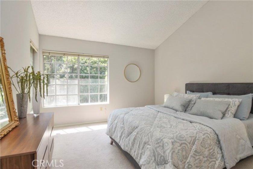 Master bedroom is soooo spacious