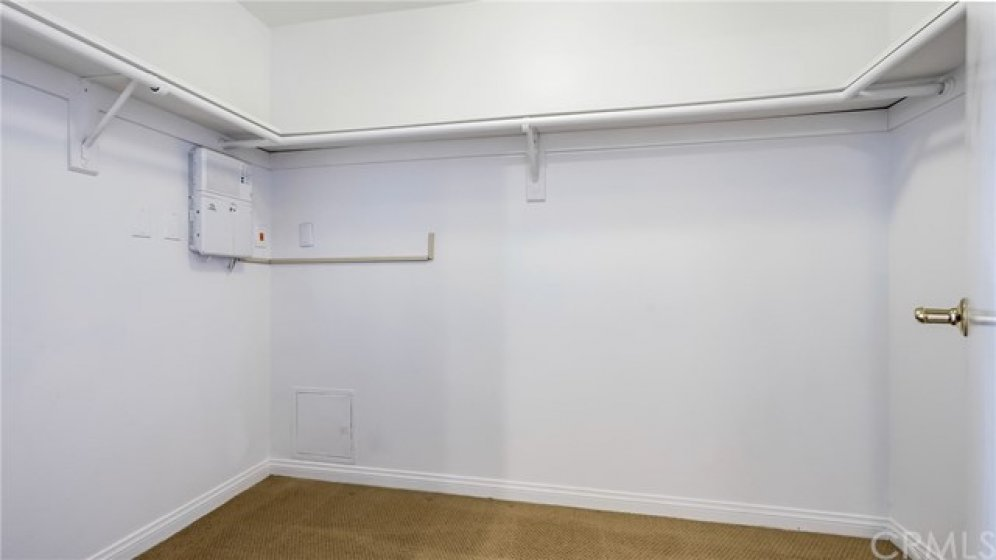 Master Suite has large walk-in closet. Perfect size for customization.