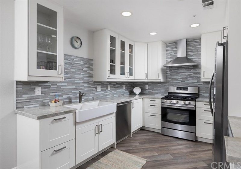 Remodeled Kitchen with Quartz Counters