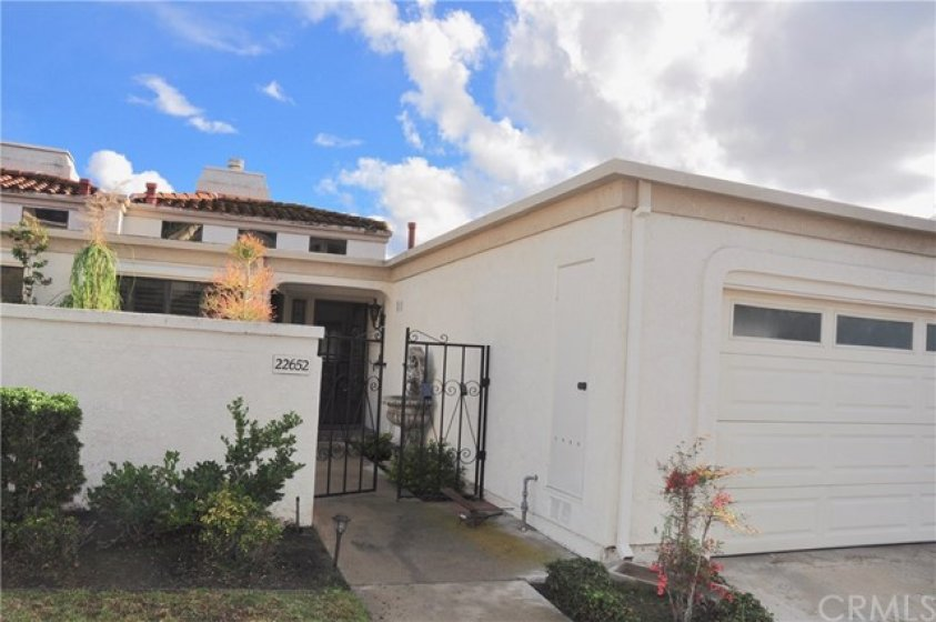 Front of Property with 2 car garage