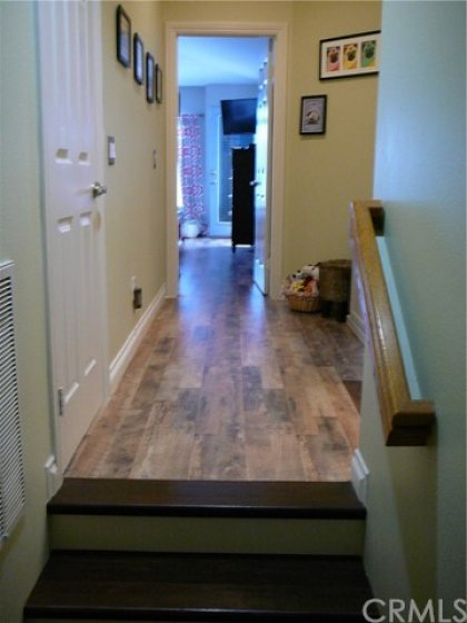 Thick 12 mil beautiful wood laminate flooring throughout 2nd floor.