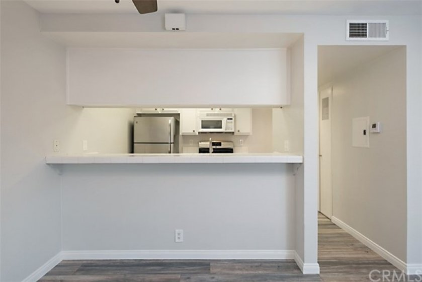 The Breakfast Bar provides additional seating