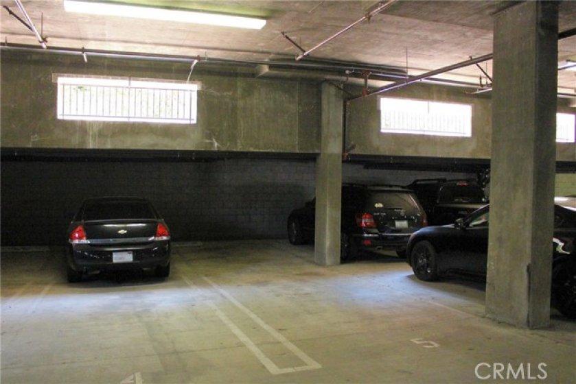 Tandem Parking Spots