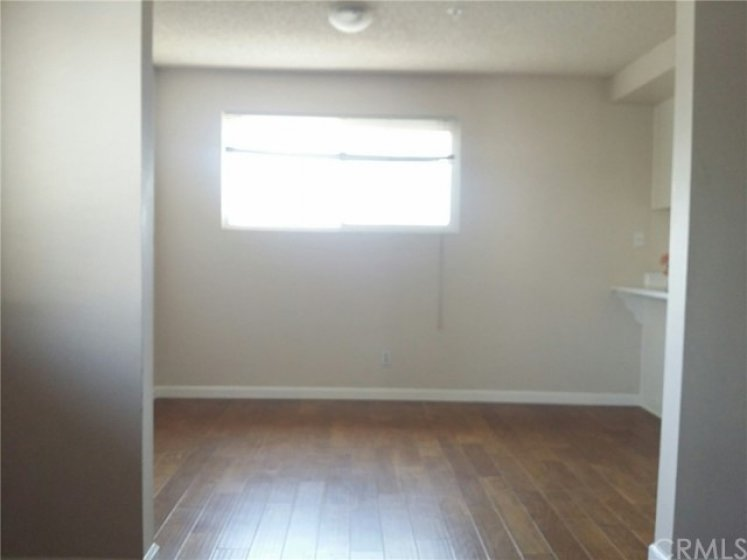 Separated formal Dinning area next to kitchen