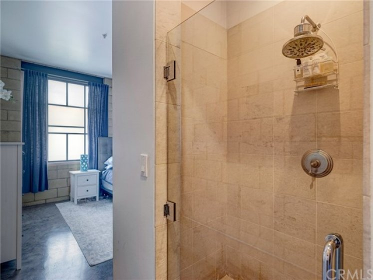 Master bathroom walk-in shower.