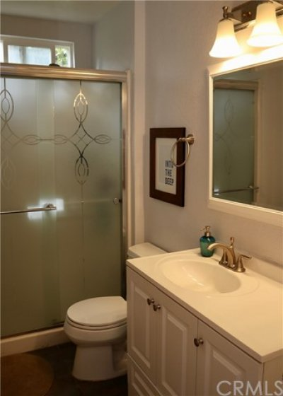 With this condo being an end unit means each bathroom has a window for light and ventilation.