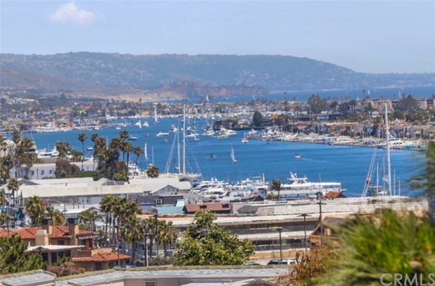 Amazing Harbor views from your private Balcony