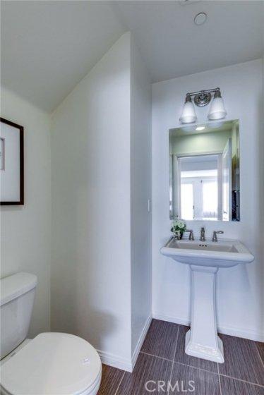 Downstairs half bath 783 Gatun #243