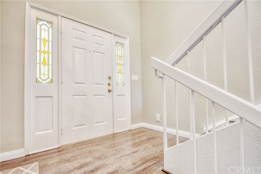 Entry way from front door.