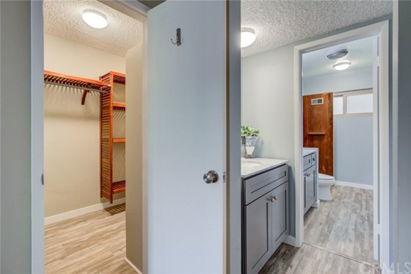 Welcome to your en suite bathroom.