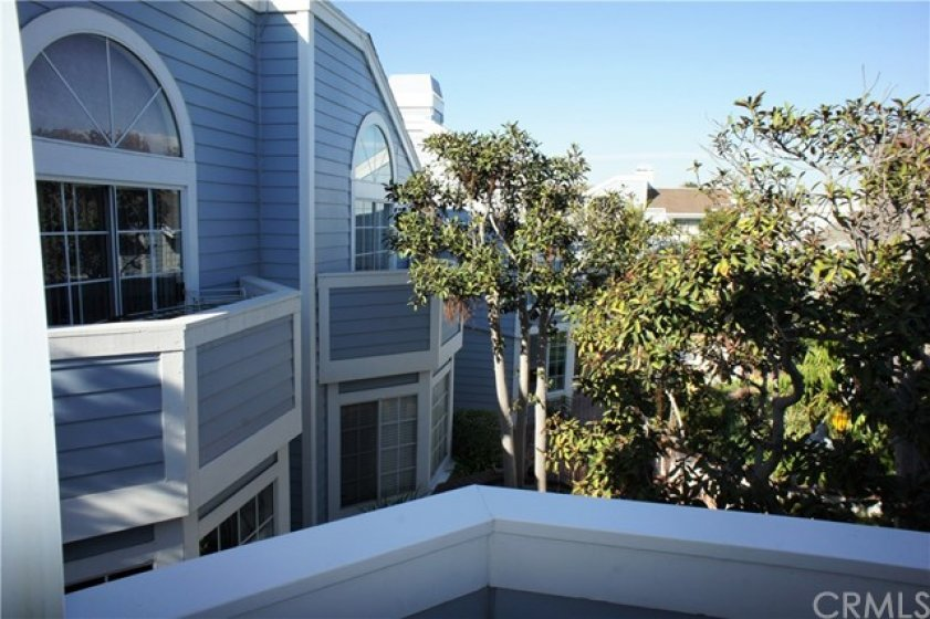Master balcony view.