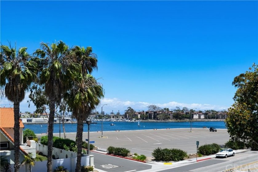 This shot of Marine Stadium and Alamitos Bay is the view right outside your new home.