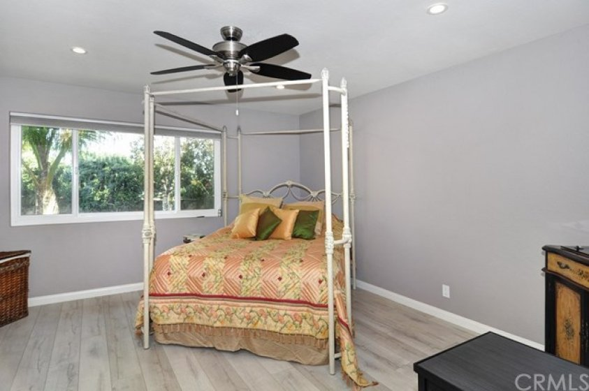 large master bedroom with large master bath and walk in closet