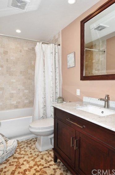 Beautiful Remodeled 2nd Bathroom.