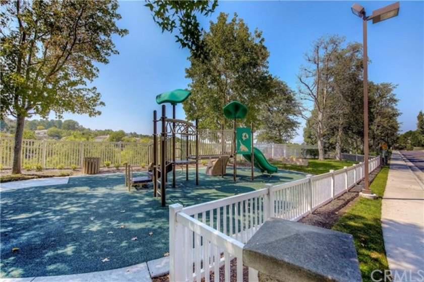Association tot lot and play area. Ronald Reagan Park is also in the neighborhood!