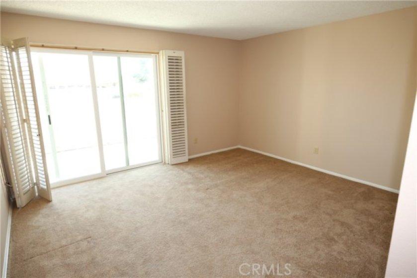 Nice sized master bedroom.