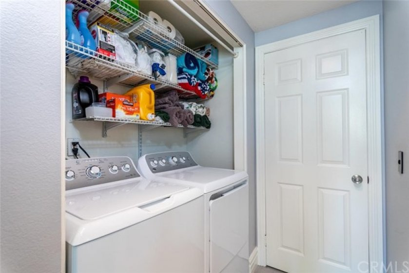 Laundry center.