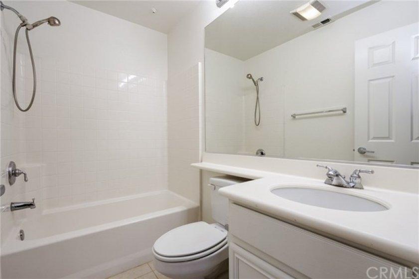 En suite bath in the first floor Master Bedroom