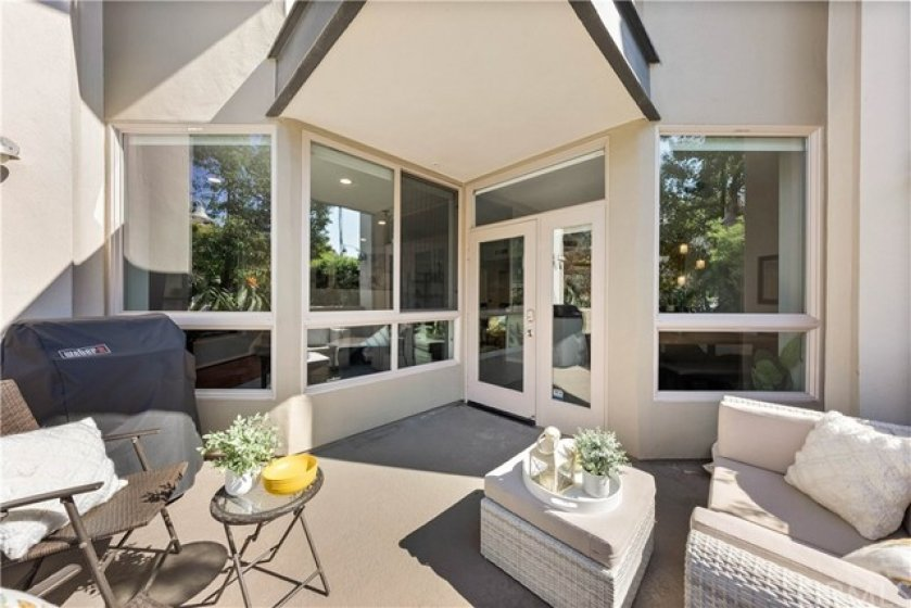Spacious Patio and entry point #2