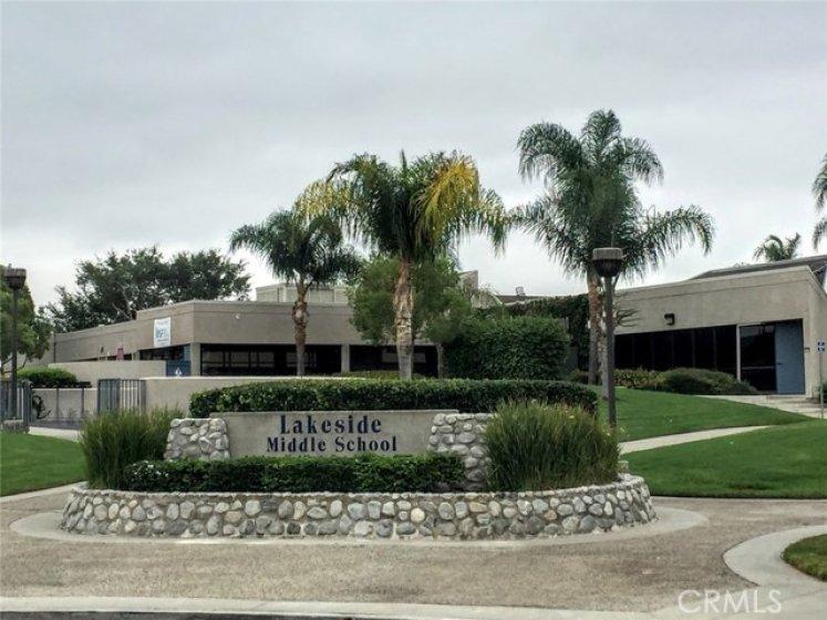 Lakeside Middle School and Eastshore Elmentary is walking distance through neighborhood streets.