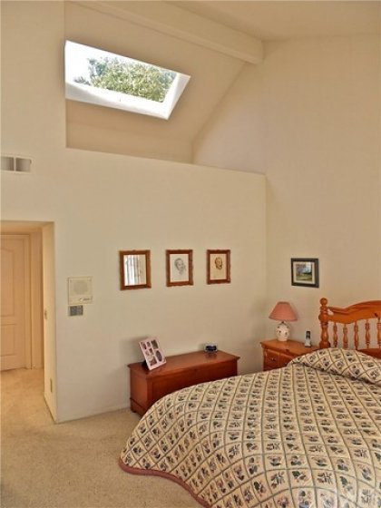 LARGE SKYLIGHT IN DRESSING AREA
