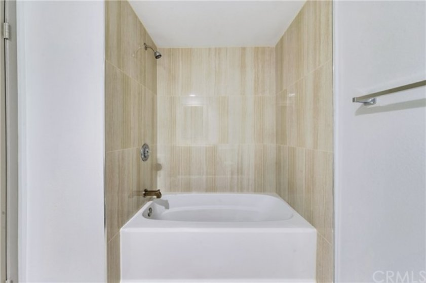 Highly upgraded common bathroom upstairs