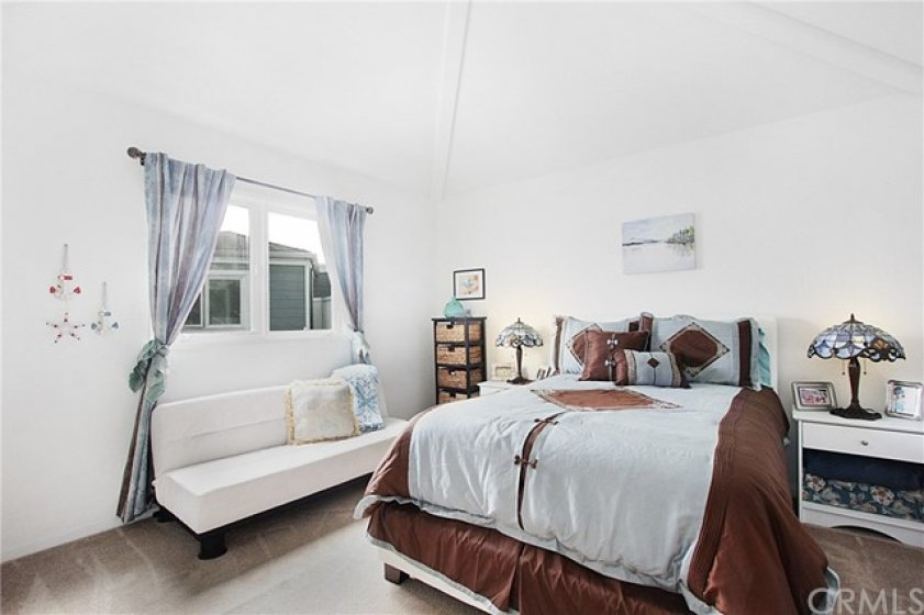 Secondary bedroom with private bathroom.