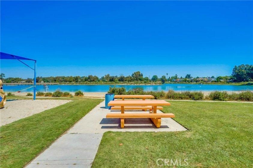 Picnic and Play area at Marina Vista Park