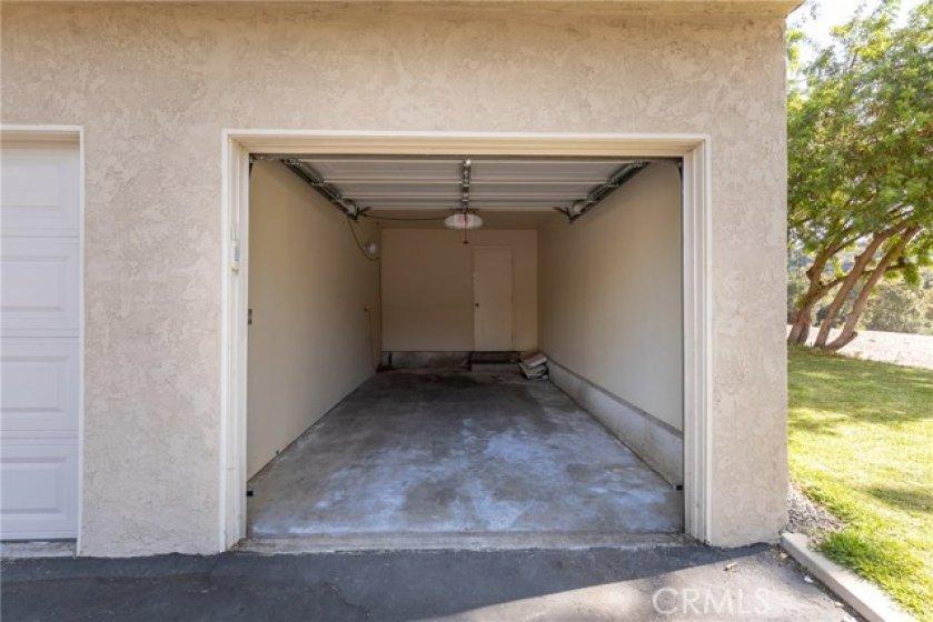 Single Car Garage