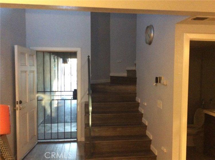 Front door & Stairway