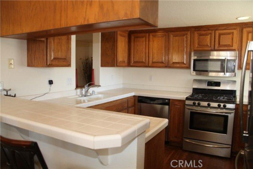 Large Kitchen, southwest corner