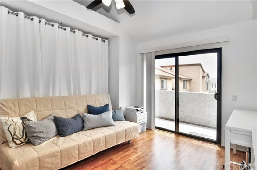 Second bedroom with private balcony