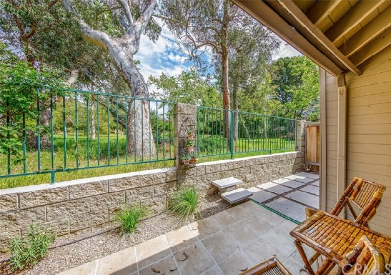 This is the View from you New Home!  The Steps Lead up to the Gate and Enter, Canyon Park!
