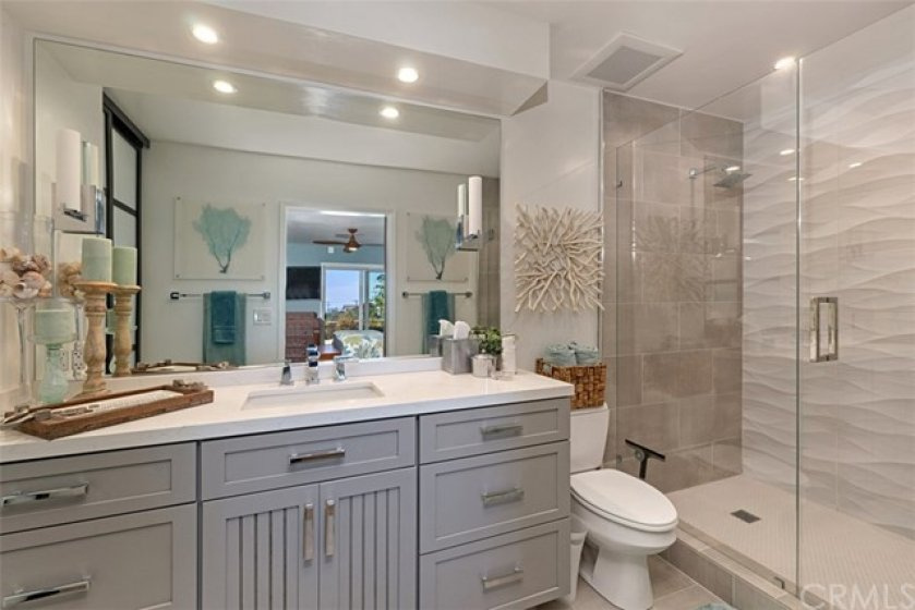Gorgeous master bath with custom designer touches throughout... you have got to see this!