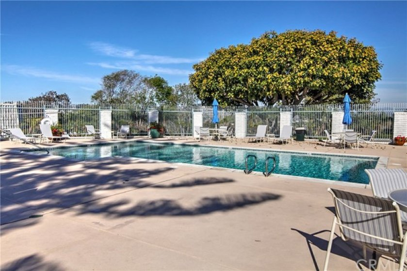 Association Swimming Pool and Poolside tables and loungers
