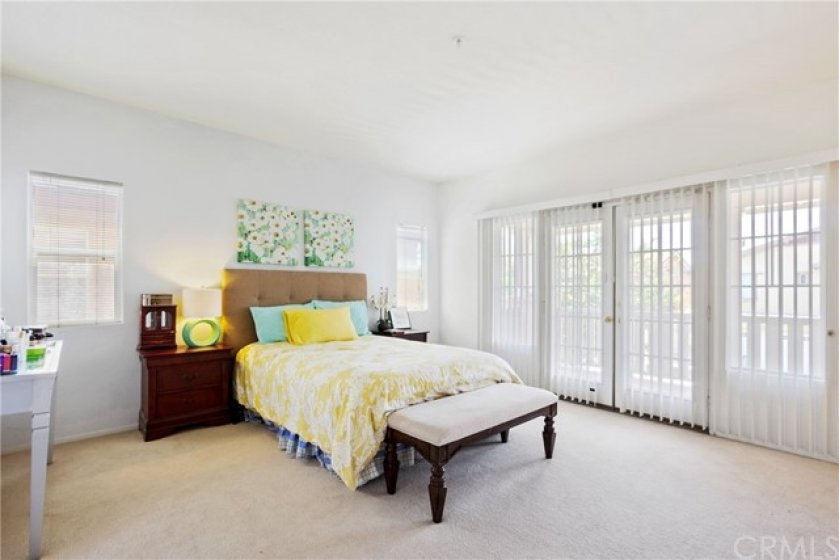Master Suite with French Doors to the Balcony