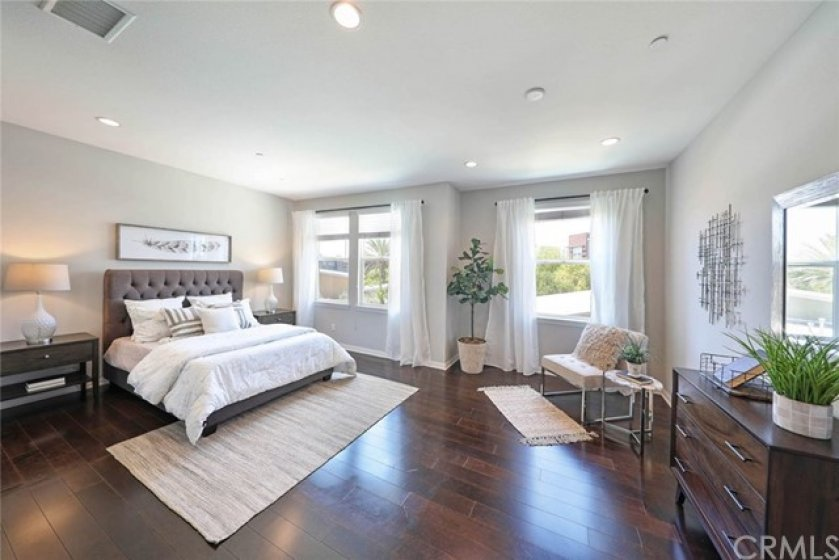 Two master suites! Both spacious and inviting.