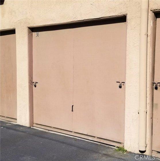Garage - One Car w/Garage Door Opener, &, Laundry Hook-Ups.