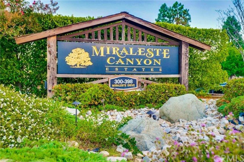 Thank you for visiting Miraleste Canyon Estates.