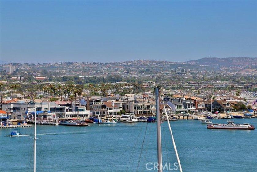 Views of Balboa Island.
