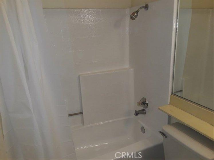 Freshly re glazed bathtub.