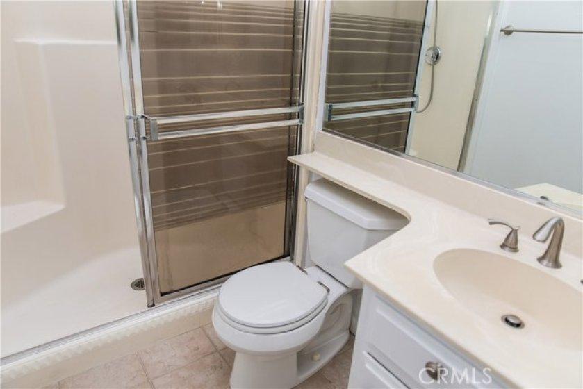 Master Bathroom and shower