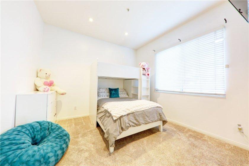 1st Bedroom w/ high ceilings