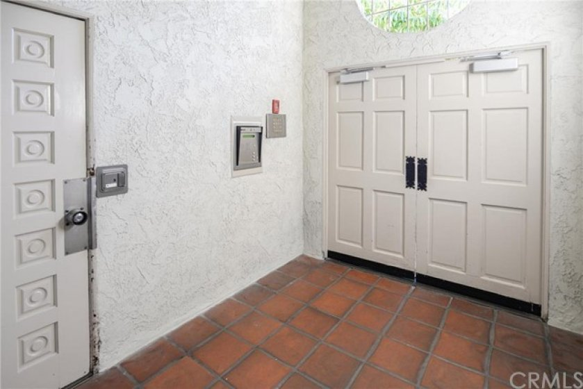 Secure Entry from outside