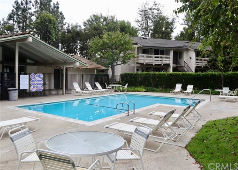 Enjoy the Hillhurst complex pool and clubhouse...this photo was taken on a typical fall afternoon.