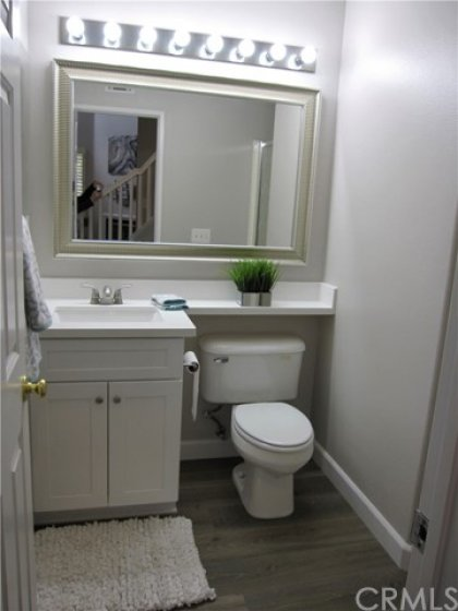 Updated downstairs 3/4 bathroom