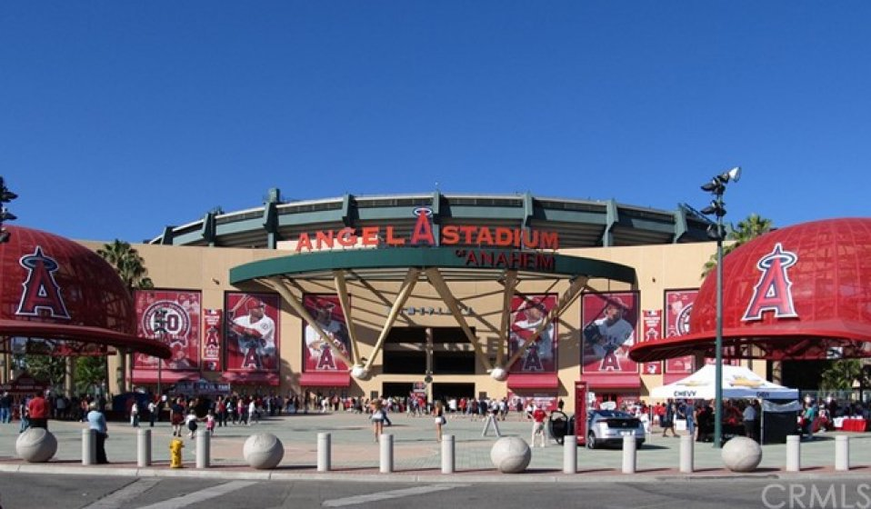 Angels Stadium located about 5 miles from 286 S. Seneca