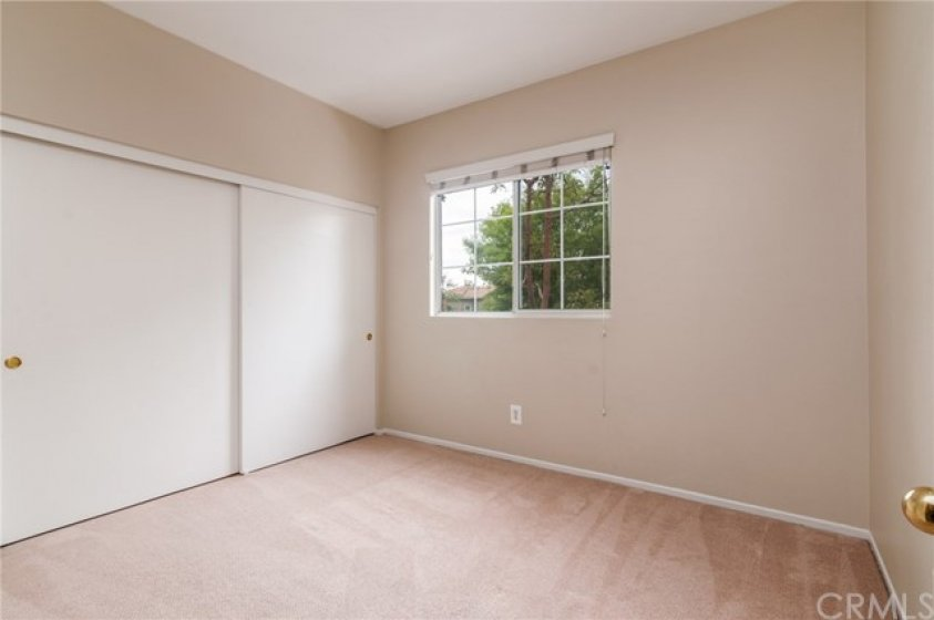 Secondary bedroom with large closet